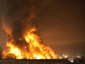 пожар в белгороде
