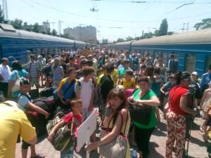 С детьми из Луганска в Одессе будут работать психологи