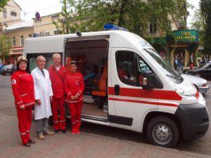 Медики Одесской области получили современные скорые