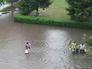Сильный ливень прошел в Одессе