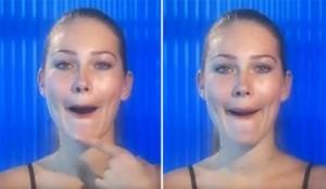Упражнения для красоты формы губ