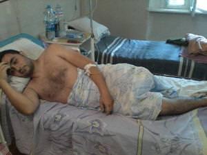 В Одессе лечат раненых морских пограничников