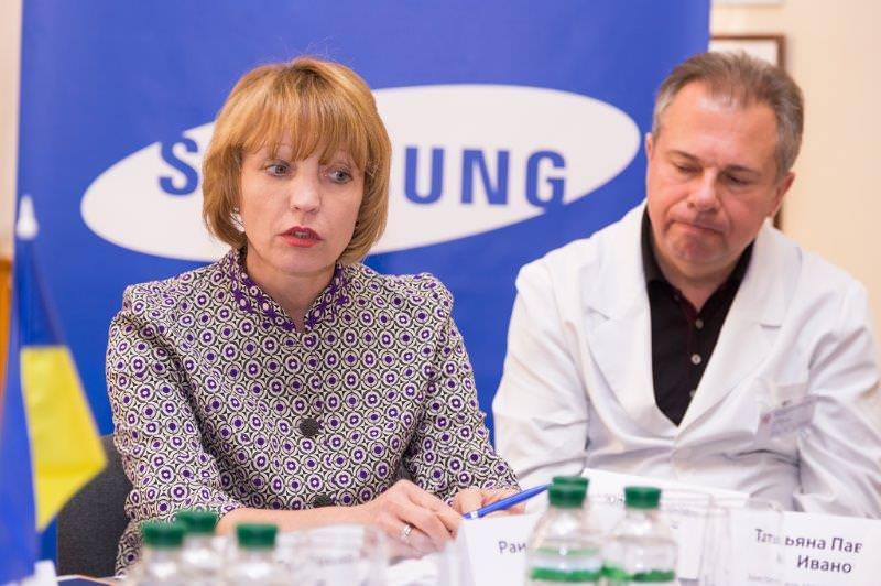 круглый стол по вопросам своевременной диагностики рака у детей Samsung