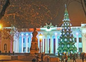 Программа празднования Нового Года и Рождества в Одессе