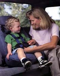 Путешествие с ребёнком на машине