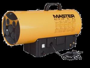 Газовые тепловые пушки для финишной отделки помещений.