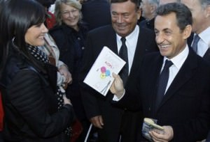 Дочь французского президента чествуют подарками