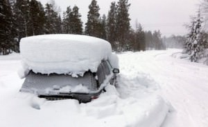 Житель Швеции выжил, проведя два месяца в заваленном снегом автомобиле