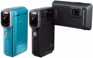 Новая карманная видеокамера Sony Handycam HDR-GW66V.