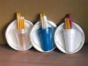 Одноразовая посуда на www.mystery.ru