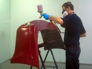 Покраска бампера с помощью сайта plastic-bumperru