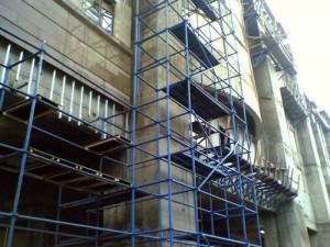 Современные фасадные работы