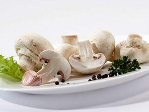 Вторые блюда из грибов