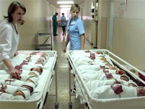 В одесских роддомах организуют питание