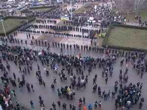 Марш в Одессе на Куликовом поле