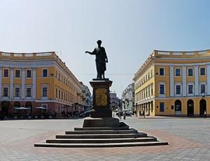 Памятник Ришелье — талисман Одессы