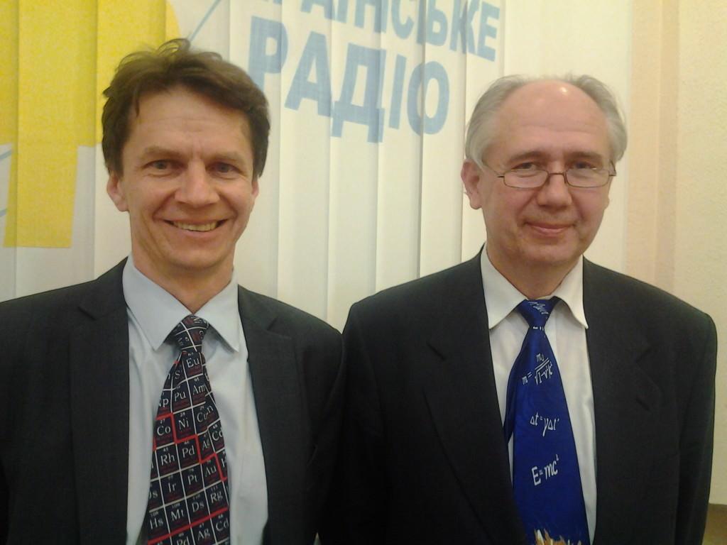 Владимир Ильченко и Игорь Комаров