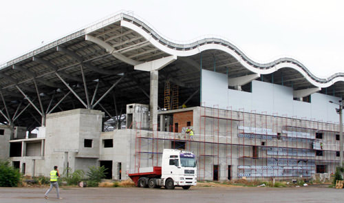 стройка терминала в Одессе возобнавлена