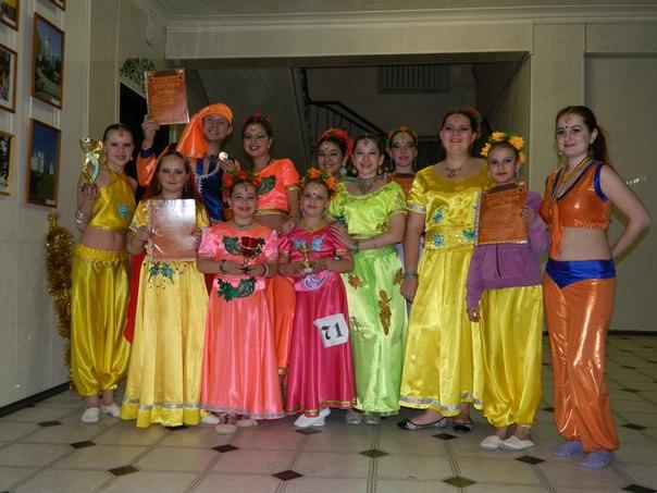 фестиваль индийского танца  «Ритмы радости»