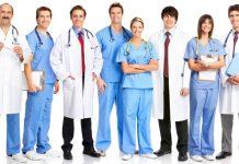 Специальности врачей.